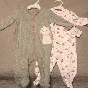 2 size 3 month sleepers NWT